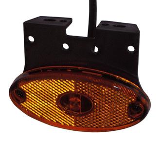Sidomarkeringslykta LED Aspöck FLATPOINT II