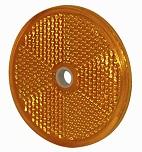 Reflex gul, Ø 60 mm