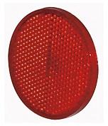 Reflex röd, Ø 60 mm