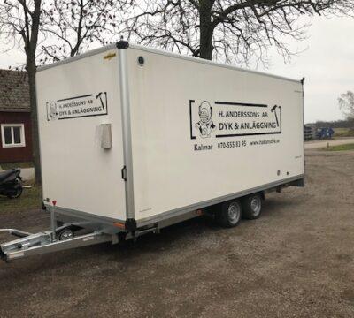 Humbaur Skåpvagn