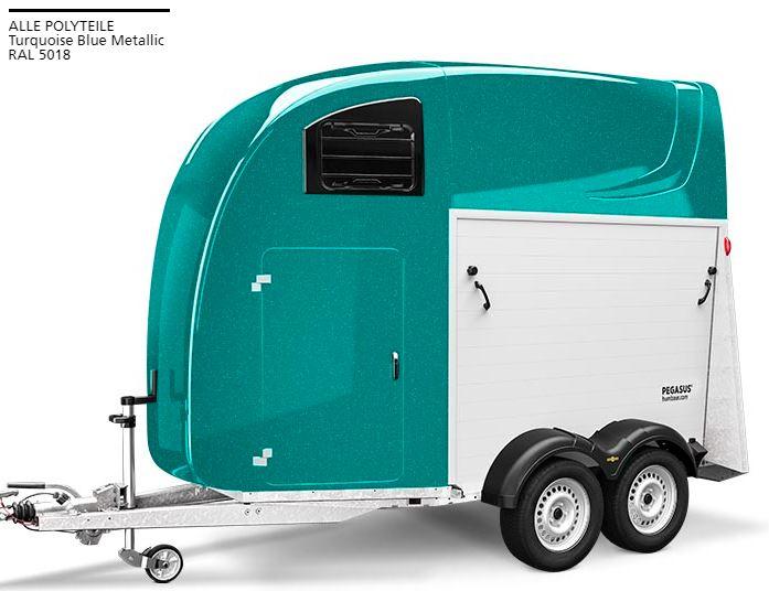 Färg Turquoise Blue Metallic RAL 5018