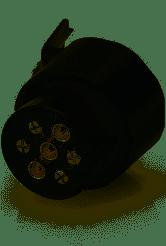 Adapter 7 bil /13- polig släp