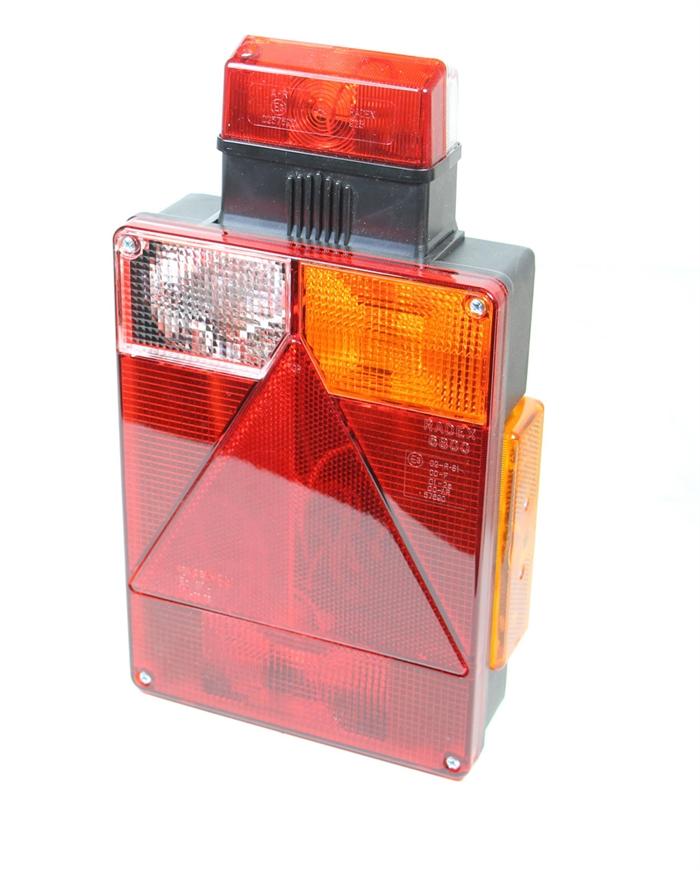 Baklykta Radex 6800 Höger + bredd